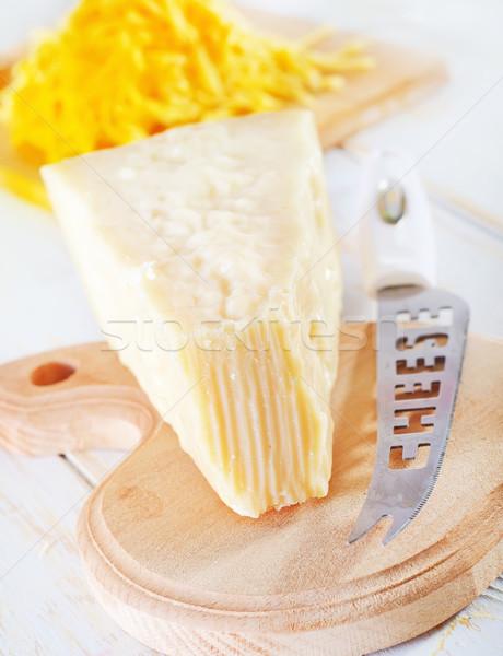 Parmesão tabela leite jantar cozinhar almoço Foto stock © tycoon