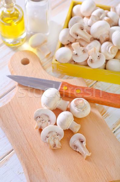 Champignons natuur keuken diner koken kok Stockfoto © tycoon