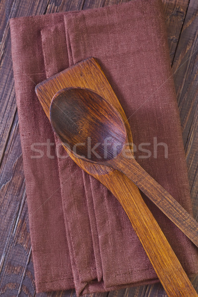 wooden dishware Stock photo © tycoon