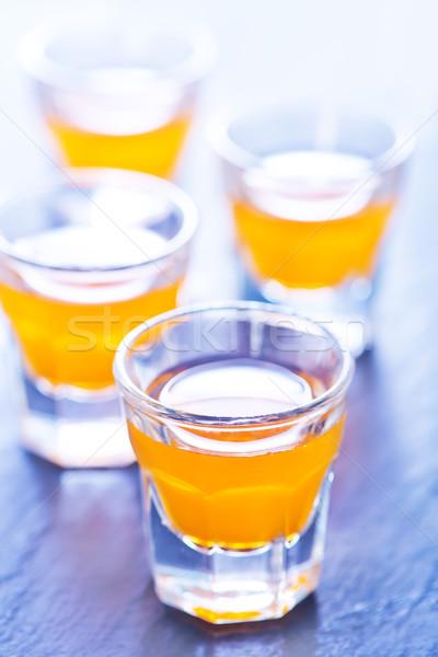 Vodka jus d'orange boire jus verre santé Photo stock © tycoon