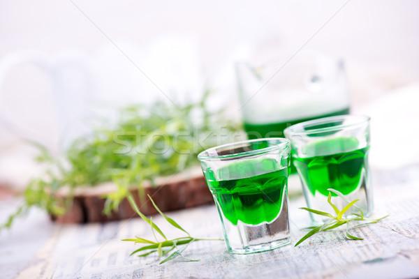 Pić shot tabeli czas Fotografia strony Zdjęcia stock © tycoon