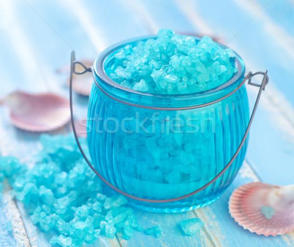 Deniz tuzu grup hayat renk spa banyo Stok fotoğraf © tycoon
