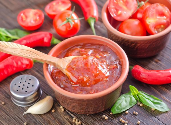 tomato sauce Stock photo © tycoon