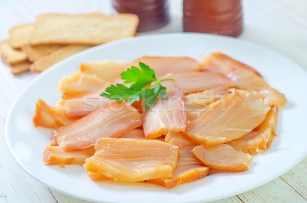 smoked fish Stock photo © tycoon