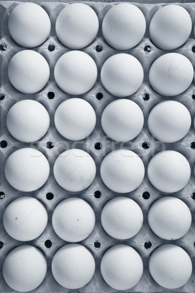 Stock photo: raw eggs