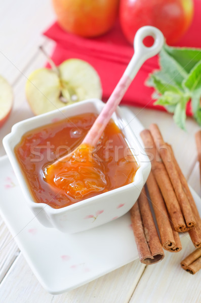 apples and jam Stock photo © tycoon