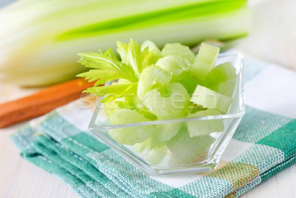 Sedano alimentare salute colore bianco mangiare Foto d'archivio © tycoon