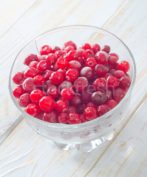 frozen cranberry Stock photo © tycoon
