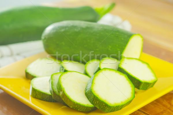 Cukkini étel fa konyha saláta főzés Stock fotó © tycoon