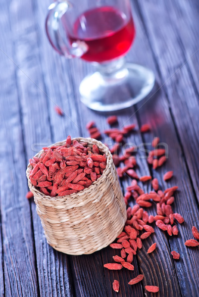 dry red berries Stock photo © tycoon