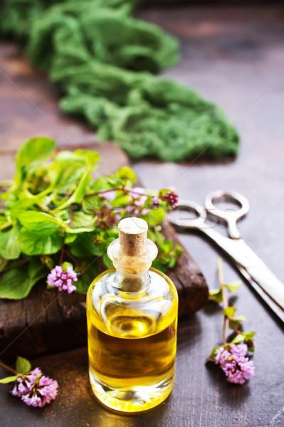 mint oil Stock photo © tycoon
