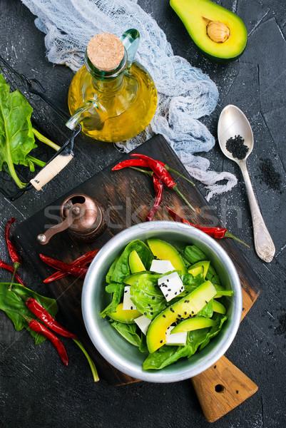 Avocado feta aroma Spice Stockfoto © tycoon