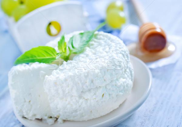Stok fotoğraf: Yeşil · süt · kahvaltı · yeme · beyaz · bal