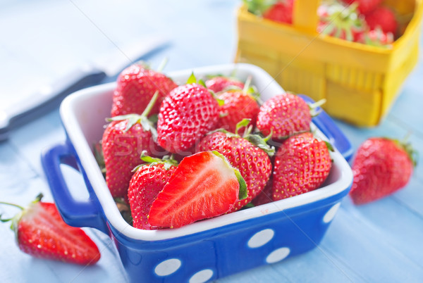 strawberry Stock photo © tycoon