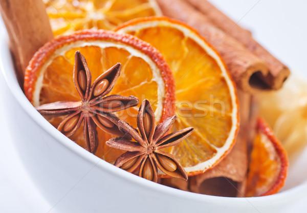 аромат Spice кухне звездой чай темно Сток-фото © tycoon