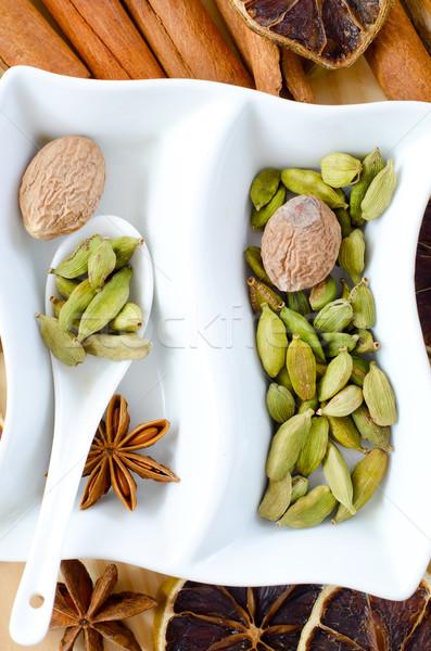 味 香料 食品 冬天 生活 關閉 商業照片 © tycoon