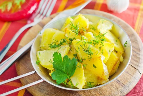 Stock photo: potato