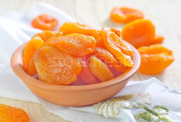 木材 フルーツ 白 デザート 甘い ストックフォト © tycoon