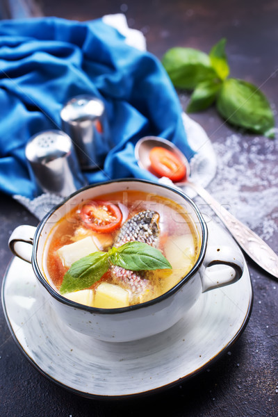 fish soup Stock photo © tycoon