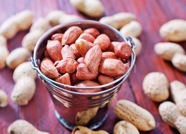 Dadi arachidi texture frutta salute gruppo Foto d'archivio © tycoon