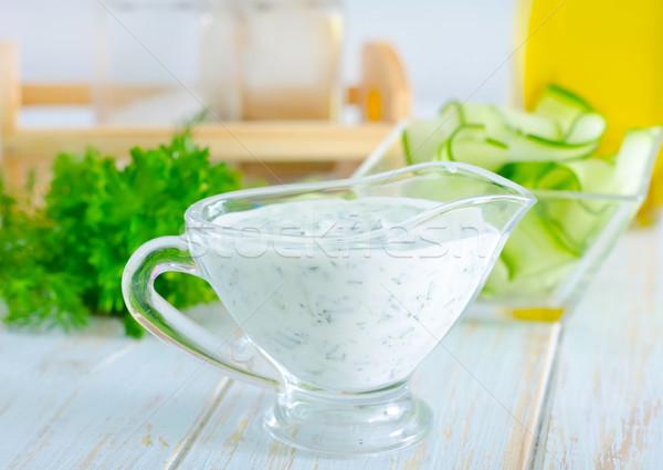 white sauce Stock photo © tycoon