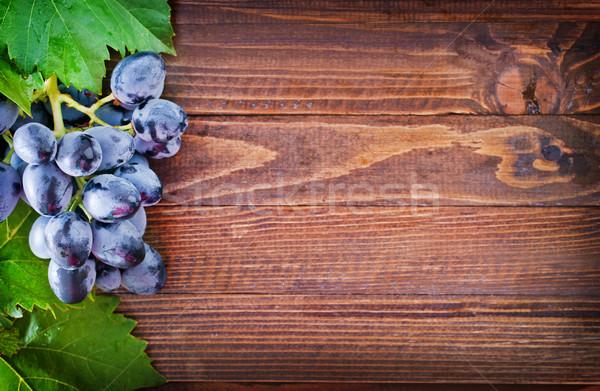 винограда дерево красный осень белый сельского хозяйства Сток-фото © tycoon