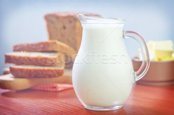 Stock photo: milk
