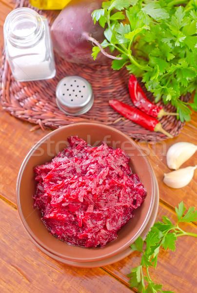 fried beet Stock photo © tycoon
