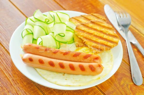 Stock photo: breakfast