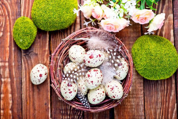 decorative painted Easter eggs Stock photo © tycoon