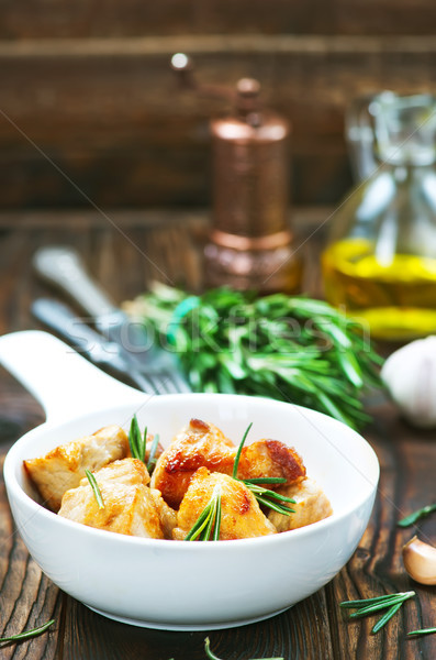 fried meat Stock photo © tycoon