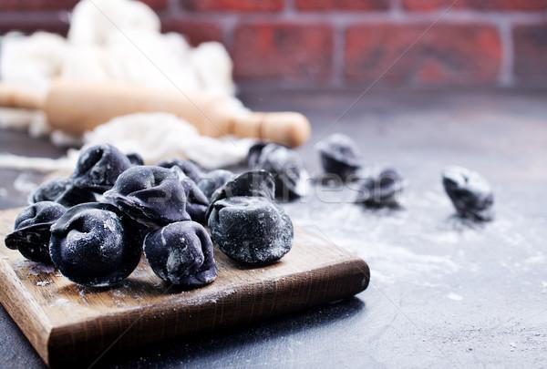 black pelmeni Stock photo © tycoon
