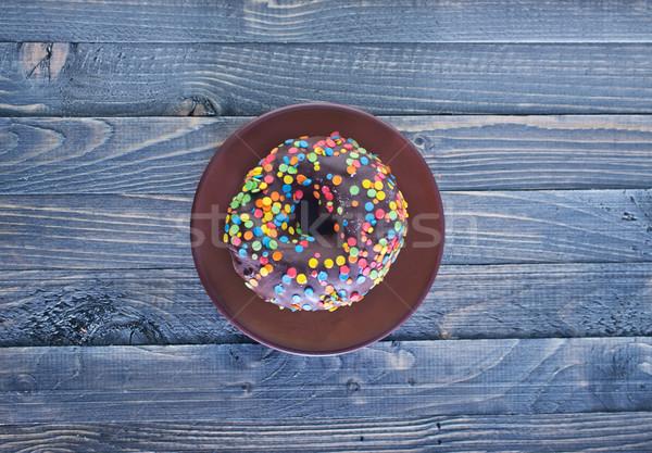 chocolate donut Stock photo © tycoon