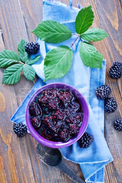 blackberry jam Stock photo © tycoon