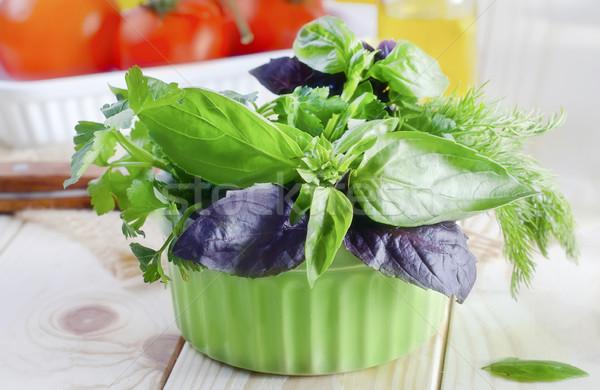 aroma herbs Stock photo © tycoon