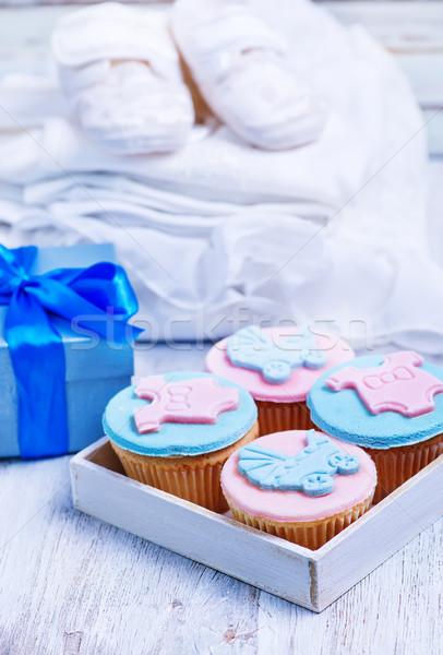 Festa onorare nascita bambino baby vestiti Foto d'archivio © tycoon