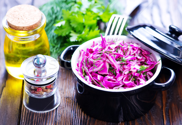 cabbage salad Stock photo © tycoon