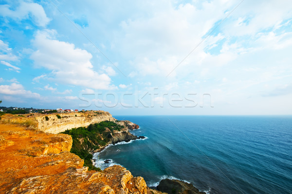 Sea and mountains in Crimea Stock photo © tycoon