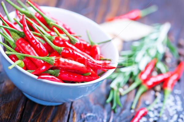 Aroma fűszer piros forró chilli só Stock fotó © tycoon