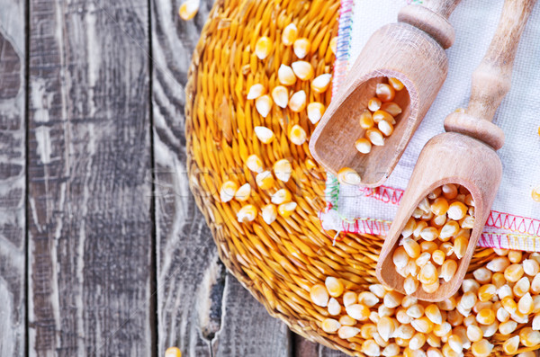 dry corn Stock photo © tycoon