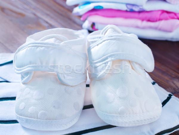 Photo stock: Bébé · vêtements · fille · Homme · robe · rose