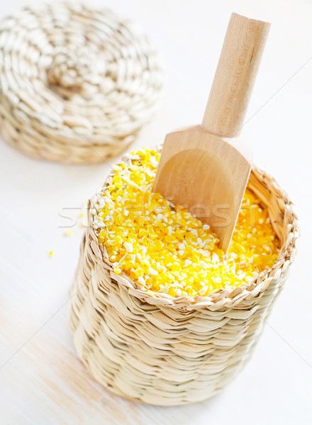 corn porridge Stock photo © tycoon