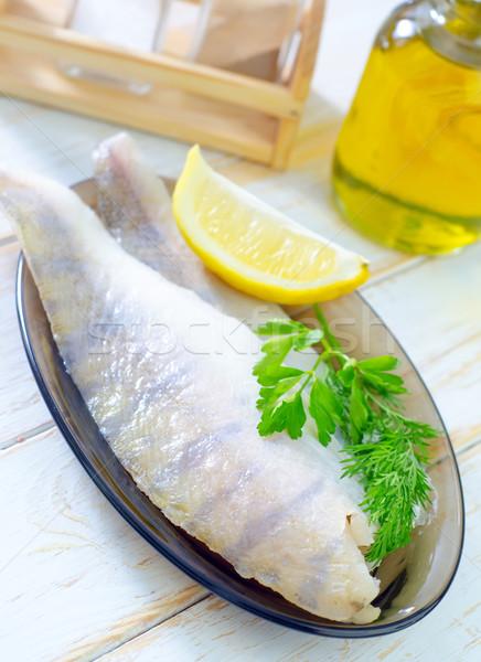 生 魚 食品 ディナー 食べ 料理 ストックフォト © tycoon