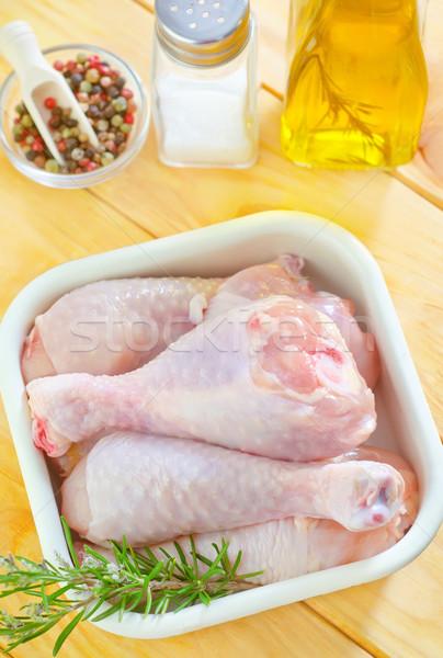 chicken Stock photo © tycoon