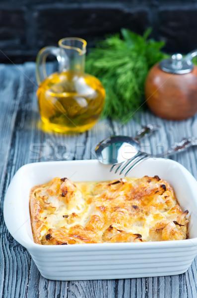 baked cauliflower Stock photo © tycoon