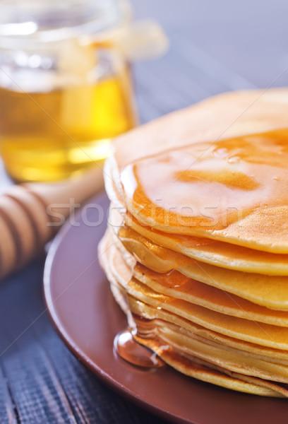 pancakes Stock photo © tycoon