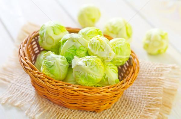 Cavolo acqua alimentare tavola verde cena Foto d'archivio © tycoon