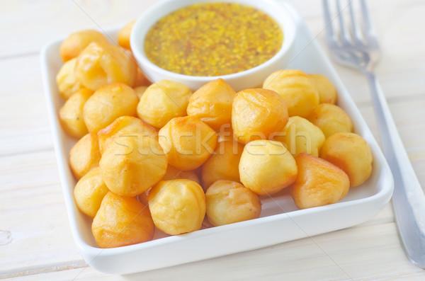 картофеля сыра обеда обед чаши Сток-фото © tycoon