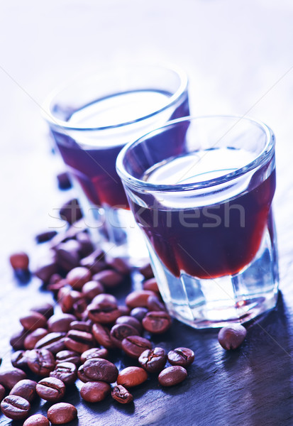 coffee liquor Stock photo © tycoon