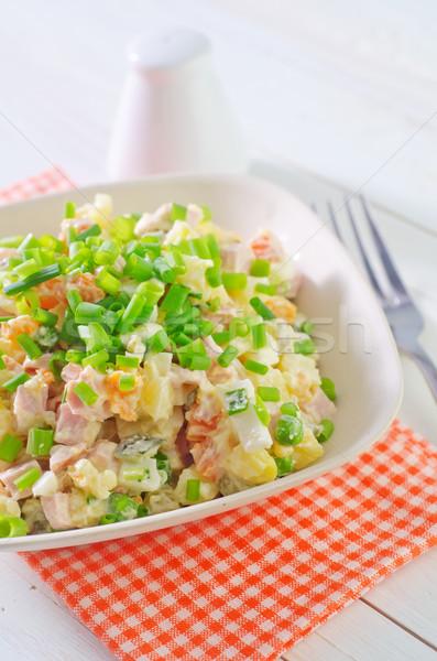 salad olivier Stock photo © tycoon